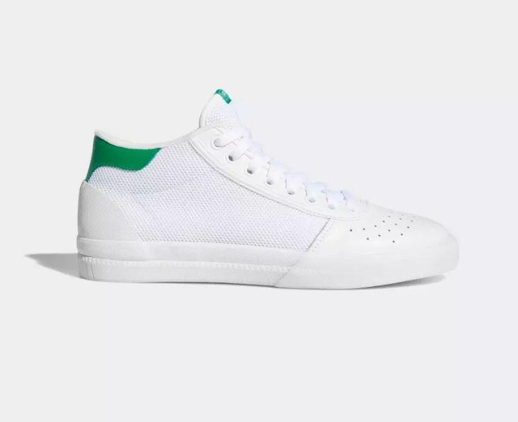 Chaussure Adidas Lucas Premiere Mid Blanc Vert