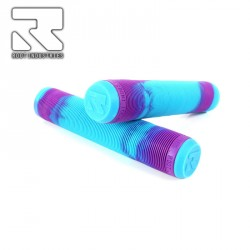 POIGNEE ROOT INDUSTRIES AIR GRIPS MIXED AQUA PURPLE