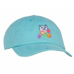 CASQUETTE RIPNDIP FLOWERS FOR BAE DAD HAT - MINT