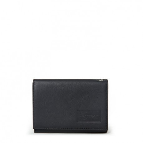 PORTEFEUILLE EASTPAK CREW - BLACK INK LEATHER
