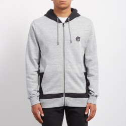 SWEAT VOLCOM BACKRONYM ZIP - GREY