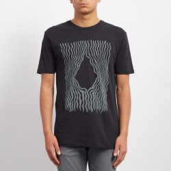 T-SHIRT VOLCOM KID WIGGLY - BLACK