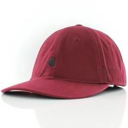 CASQUETTE CARHARTT WIP MADISON LOGO CAP - MULBERRY BLACK