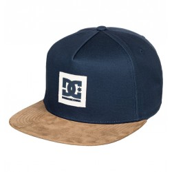 CASQUETTE DC SHOES DACKS - DARK INDIGO