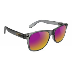 LUNETTES GLASSY LEONARD DARK GREY /PURPLE MIRROR