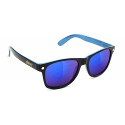 LUNETTES GLASSY LEONARD BLACK BLUE / BLUE MIRROR