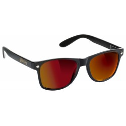 LUNETTES GLASSY LEONARD BLACK / RED MIRROR