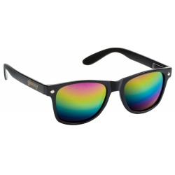 LUNETTES GLASSY LEONARD BLACK / COLOR MIRROR