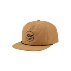 CASQUETTE NIXON SESSIONS SNAPBACK - WHEAT