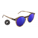 LUNETTES GLASSY TIMTIM HONEY / BLUE MIRROR POLARIZED