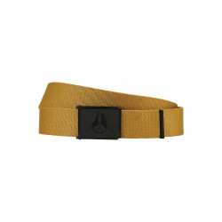 CEINTURE NIXON ENAMEL WINGS - WHEAT