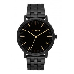 MONTRE NIXON PORTER - ALL BLACK / GOLD