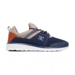 CHAUSSURE DC SHOES HEATHROW PRESTIGE - NAVY / KHAKI