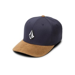 CASQUETTE VOLCOM FULL STONE XFIT - MIDNIGHT BLUE