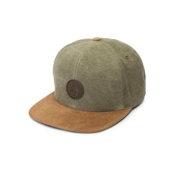 CASQUETTE VOLCOM QUARTER FABRIC - ARMY GREEN COMBO