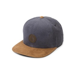 CASQUETTE VOLCOM QUARTER FABRIC - MIDNIGHT BLUE