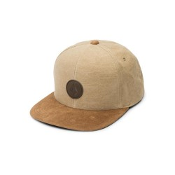 CASQUETTE VOLCOM QUARTER FABRIC - OLD GOLD