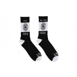 CHAUSSETTES CULT EYE KNOW - BLACK