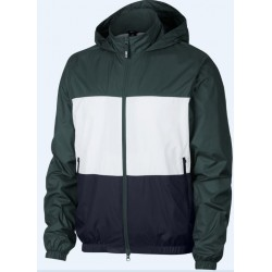 VESTE NIKE SB SHIELD STRIPE - MIDNIGHT GREEN WHITE OBSIDIAN