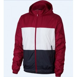 VESTE NIKE SB SHIELD STRIPE - RED CRUSH WHITE OBSIDIAN