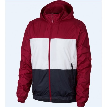 45f11511a045f Veste Nike Sb Shield Stripe - Red Crush White Obsidian
