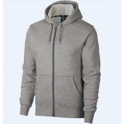 SWEAT NIKE SB ICON ZIP HOOD - DARK GREY HEATHER BLACK