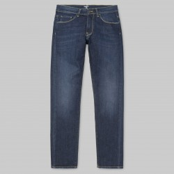 PANTALON CARHARTT WIP VICIOUS PANT - BLUE DEEP COAST WASHED