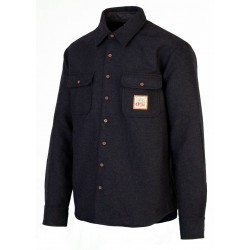CHEMISE PICTURE ORGANIC COLTON SHIRT - DARK BLUE