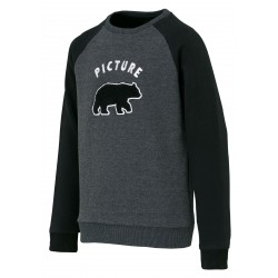 SWEAT PICTURE KIDS JUNGLE - BLACK