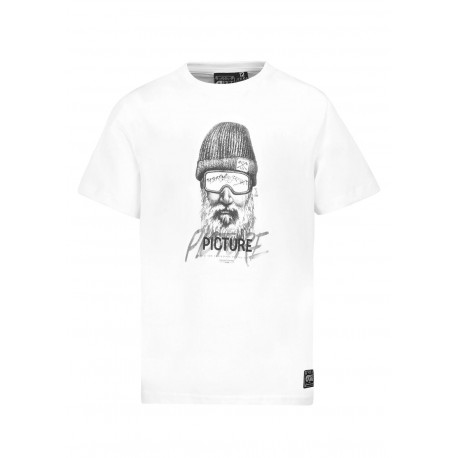 T-SHIRT PICTURE KIDS DADY - WHITE