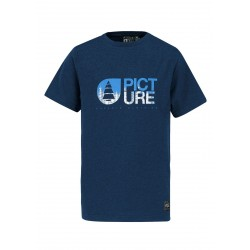 T-SHIRT PICTURE ORGANIC KIDS ROOTS - DARK BLUE