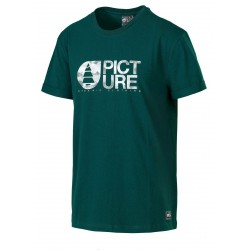 T-SHIRT PICTURE ORGANIC NUGGET - EMERALD