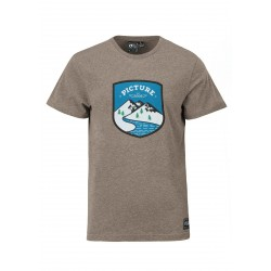 T-SHIRT PICTURE FUNGI - CAMEL