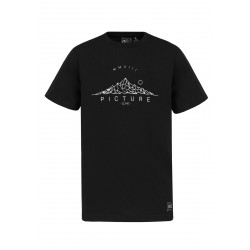 T-SHIRT PICTURE ORGANIC HIMALAYA - BLACK