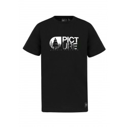 T-SHIRT PICTURE FOREST - BLACK