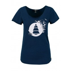 T-SHIRT PICTURE ORGANIC ABOYS - DARK BLUE