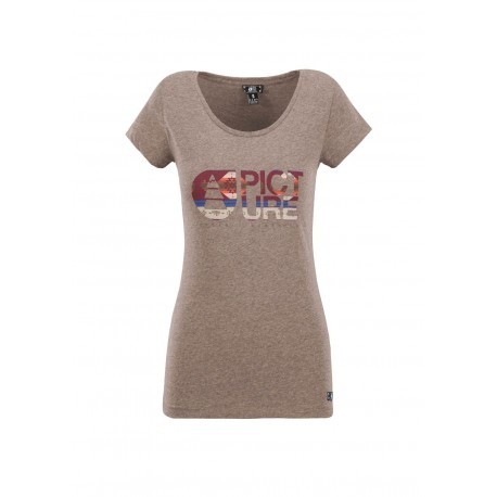 T-SHIRT PICTURE FALL - CAMEL