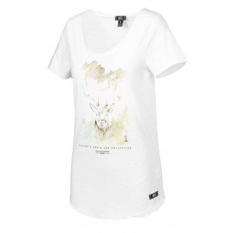 T-SHIRT PICTURE D&S WILD - WHITE