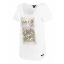 T-SHIRT PICTURE ORGANIC D&S AKELA - WHITE
