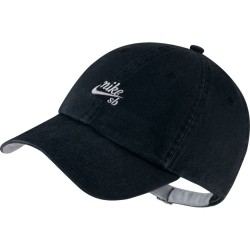 CASQUETTE NIKE HERITAGE 86 ICON - BLACK WOLF GREY