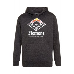 SWEAT ELEMENT LAYER HOOD - GRIS ANTHRACITE CHINÉ