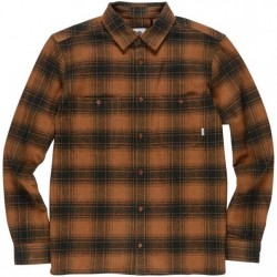 CHEMISE L/S ELEMENT MILLER - GOLDEN BROWN