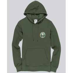 SWEAT ELEMENT EA LOGO PRINTED - OLIVE