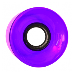 ROUES NAKED CRUISER CLEAR PURPLE 83A - 60MM