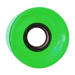 ROUES NAKED CRUISER CLEAR GREEN 83A - 60MM