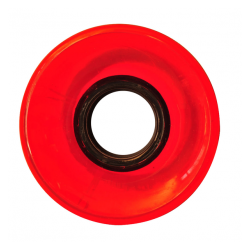ROUES NAKED CRUISER CLEAR RED 83A - 60MM