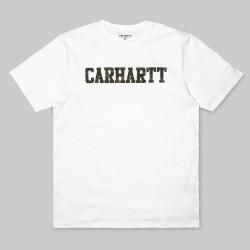 T-SHIRT CARHARTT COLLEGE - WHITE / CAMO