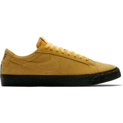 CHAUSSURES NIKE SB BLAZER LOW - YELLOW OCHRE BLACK