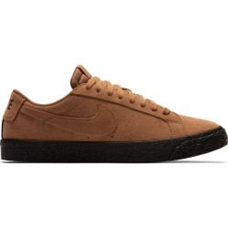 CHAUSSURES NIKE SB BLAZER LOW - LT BRITISH TAN BLACK