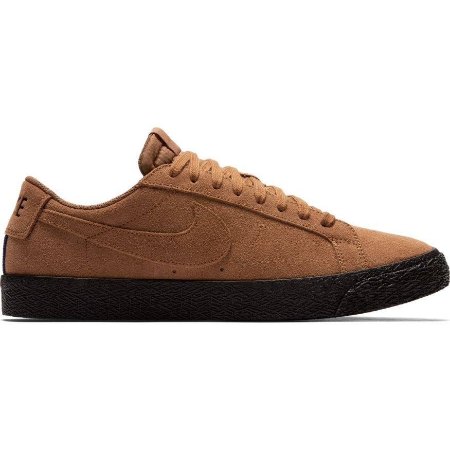 factory authentic los angeles order online Chaussures Nike Sb Blazer Low - Lt British Tan Black
